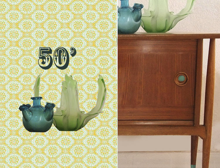 home decoration fifties